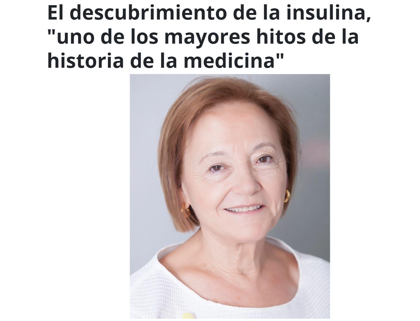 100 años descubrimiento insulina