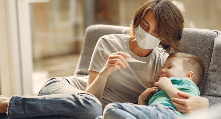 vacuna en niños gripe y diabetes